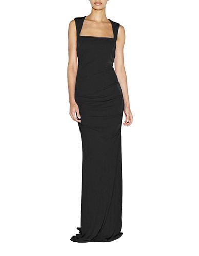 Shop Nicole Miller online and buy Nicole Miller Felicity Jersey Gown dress online