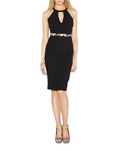 NICOLE MILLERSleeveless Keyhole Dress
