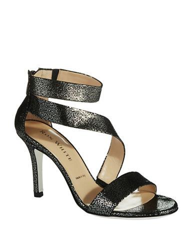 RON WHITEBelinda Metallic Sandals