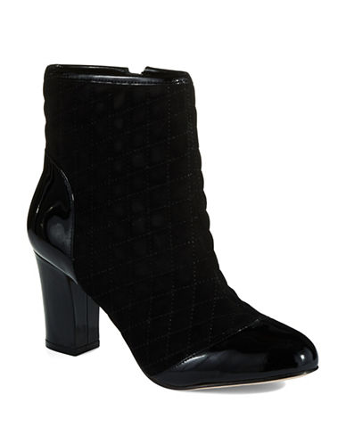 RON WHITECandace Quilted Ankle Booties