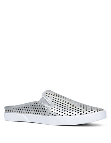 Buy Roeria Perforated Mules by Design Lab Lord & Taylor online