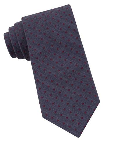 michael kors male 215965 narrow microdot tie
