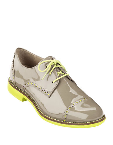 COLE HAAN Patent Leather Oxfords