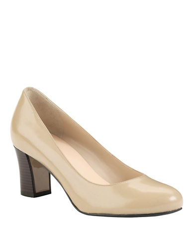 COLE HAAN Edielow Leather Pumps
