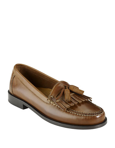 COLE HAANFringed Leather Loafers