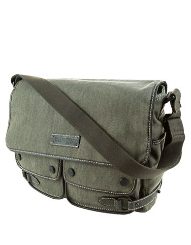 MARC NEW YORK ANDREW MARC Rivington Twill Messenger Bag
