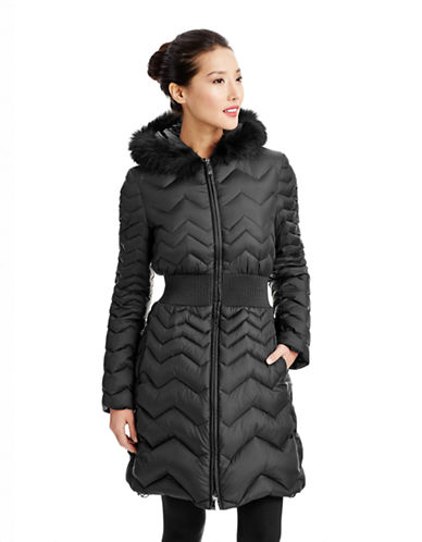 Dawn Levy Zig Zag Down Coat