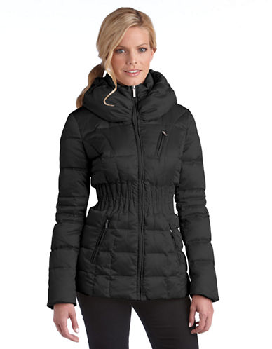 Laundry By Shelli Segal Stand-Up Collar Down Jacket