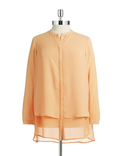 Dknyc Plus Plus Button Down Blouse