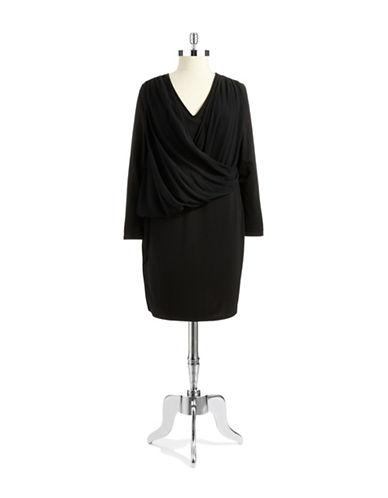 DKNYC PLUSPlus Mock Top Dress