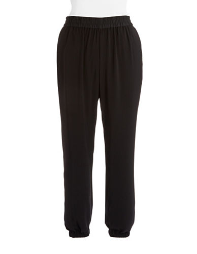 Dknyc Plus Plus Stretch Harem Pants