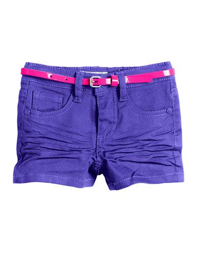 SQUEEZEGirls 2-6x Belted Denim Shorts