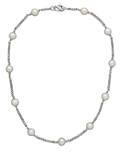 HONORA STYLE Sterling Silver Freshwater Pearl Necklace