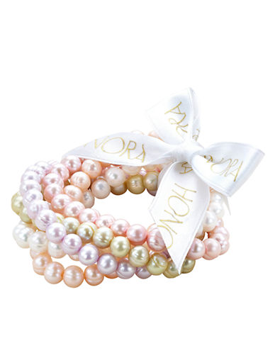 HONORA STYLEMulti-Pearl Bracelet Set - 5