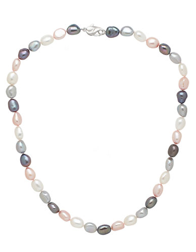 HONORA STYLE Multi-Color Freshwater Pearl Necklace