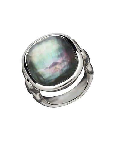 HONORA STYLE Sterling Silver and Fresh Water Pearl Doublet Ring