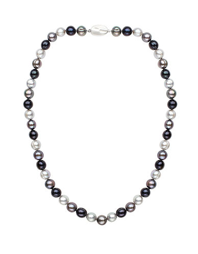 HONORA STYLE8MM Multi-Color Cultured Pearl and Sterling Silver Necklace -18in