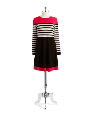 ELIZA JPlus Colorblock Knit Dress