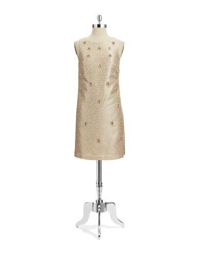 ELIZA JBeaded A Line Dress