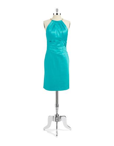 Shop Eliza J online and buy Eliza J Ruched Necklace Dress dress online