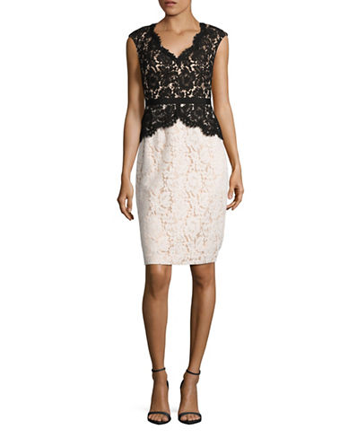 scalloped lace dress lord taylor