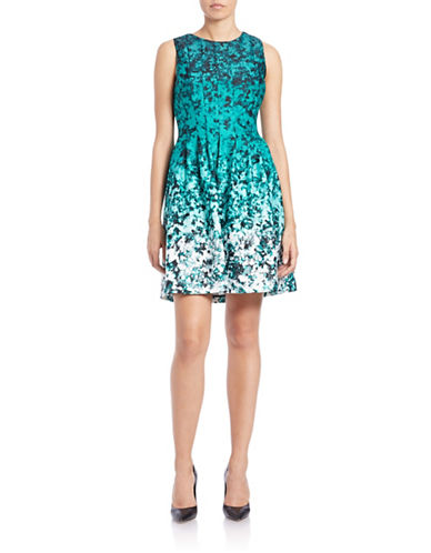 VINCE CAMUTOSleeveless Fit-and-Flare Dress