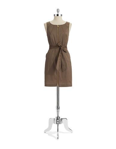 VINCE CAMUTOZip Front Shift Dress
