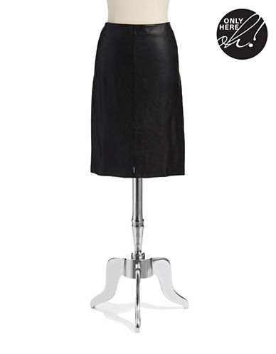 424 FIFTHLeather Pencil Skirt