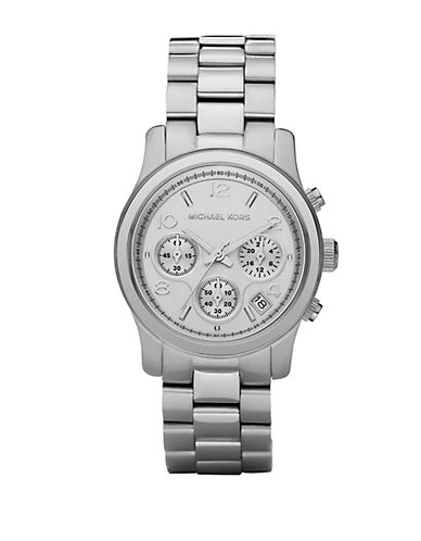 MICHAEL KORS Ladies Stainless Steel Chronograph Watch
