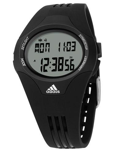 ADIDASMens Uraha Black Digital Watch
