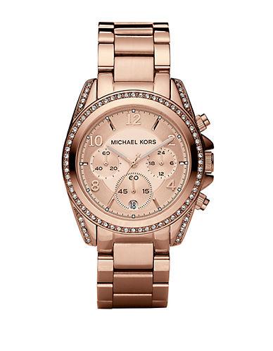 MICHAEL KORSLadies Crystal-Accented Chronograph Watch