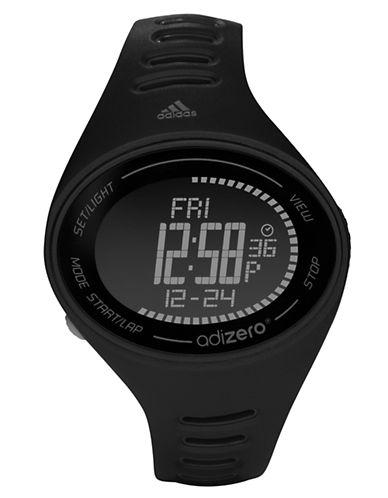 ADIDASMens Adizero Black Digital Sport Watch