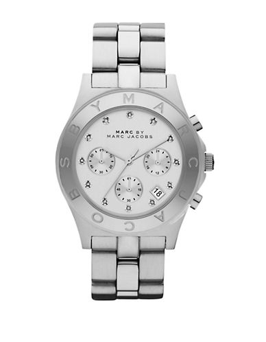 MARC BY MARC JACOBS Ladies Blade Stainless Steel Chronograph Watch