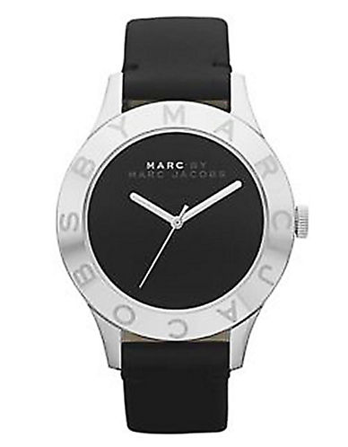 MARC BY MARC JACOBSLadies Blade Black Leather Watch