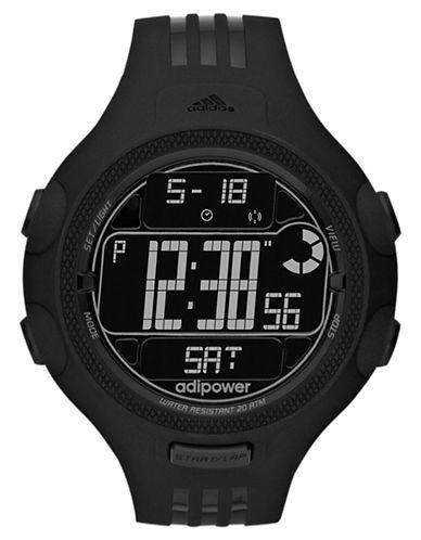 ADIDASMens Black Adipower Digital Watch