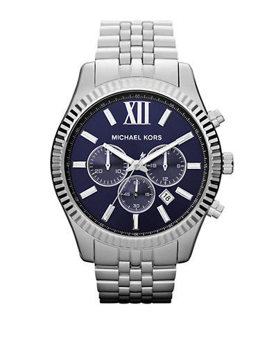 michael kors male lexington chronograph watch