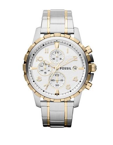 FOSSILMens Dean Stainless Steel Watch