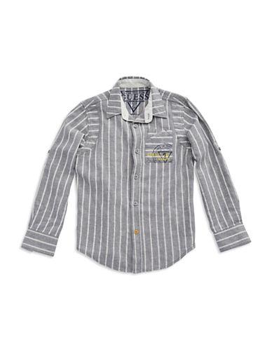 GUESSBoys 8-20 Chambray Dress Shirt