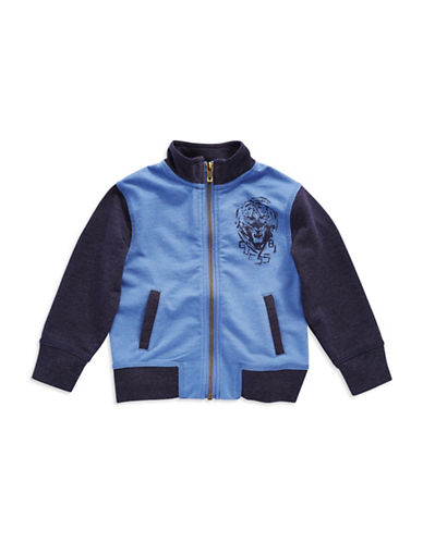 GUESS Boys 2-7 Zip Up Track Jacket