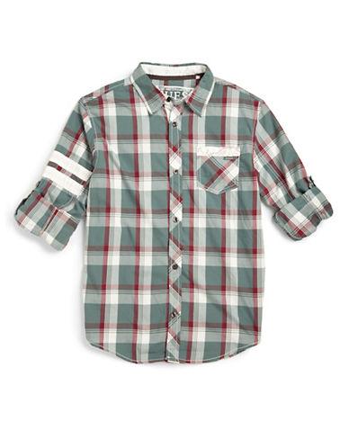 GUESSBoys 8-20 Nashville Plaid Shirt