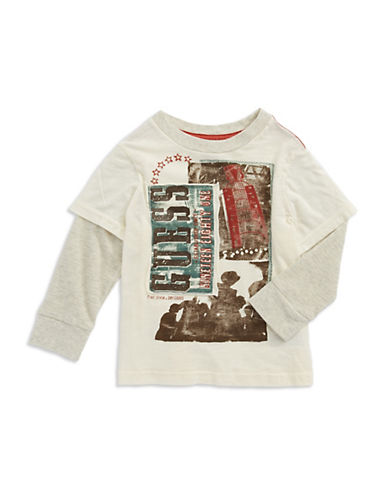 GUESSBoys 2-7 Mock Layered T Shirt