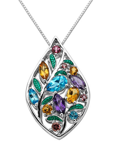 LORD & TAYLORMulti-Stone Pendant in Sterling Silver