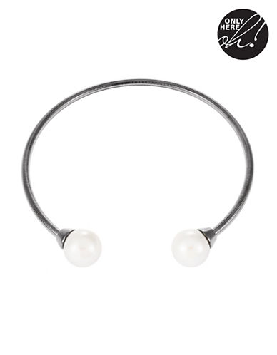 424 FIFTH Pearl Choker Cuff Necklace