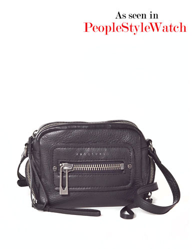 SANCTUARY Leather Mini Hero Crossbody Bag