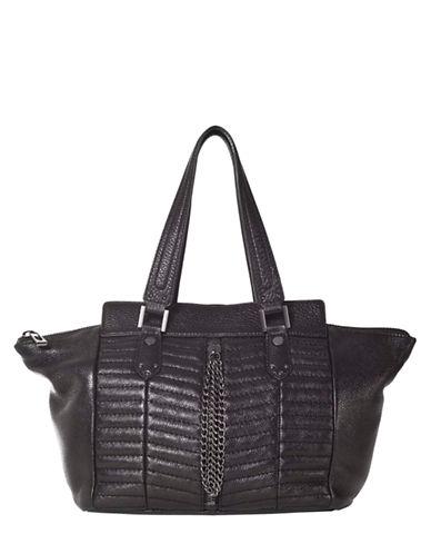SANCTUARYHeavy Metal Leather Tote Bag