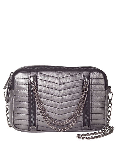 SANCTUARYHeavy Metal Leather Multi Way Shoulder Bag