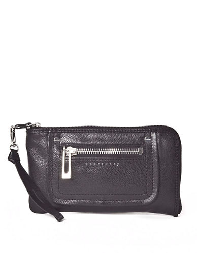 SANCTUARY Leather Wallet Wristlet