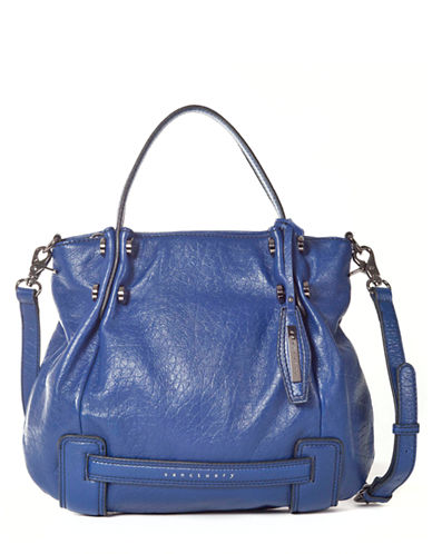 SANCTUARY Leather Crossbody Tote Bag