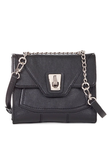 SANCTUARY Museum Leather Crossbody Bag