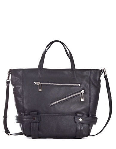 SANCTUARY Magazine Leather Tote Bag